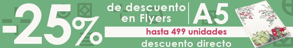 La gama de Flyers y folletos de Exaprint